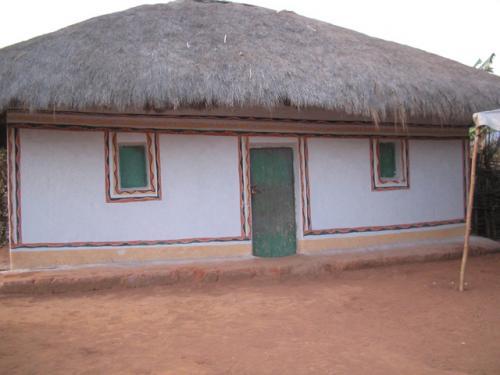 Une sorte de maison de la colline Ruvumu